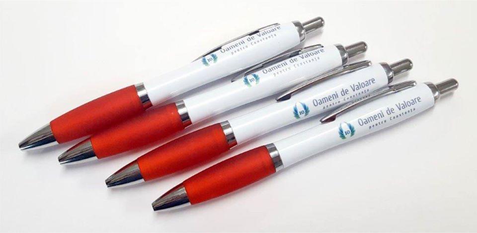 inscriptionari pixuri pixuri colorate ieftine printate logo uv constanta ieftin custom pen